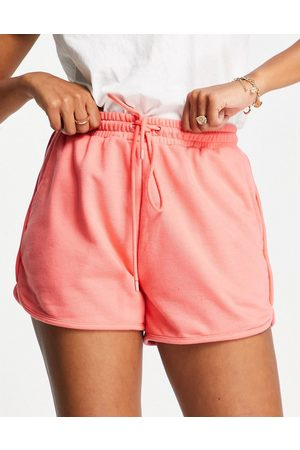 Hunkemöller POP recycled cotton lounge cheeky short in coral
