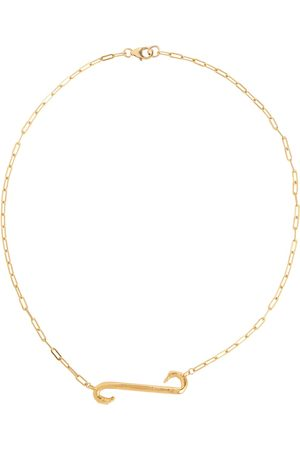 Alighieri The Burning Stream In The Sky 24kt gold-plated necklace
