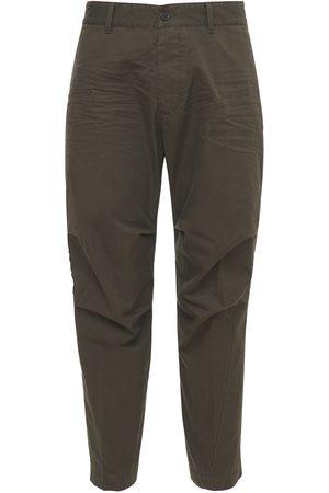 DSQUARED2 Hombre Chinos - Pantalones Chinos Skipper Fit De Algodón