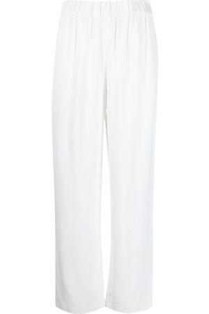 CO Pantalones rectos n pretina elástica