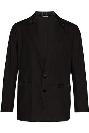 Dolce & Gabbana Blazer con ribete de rayas