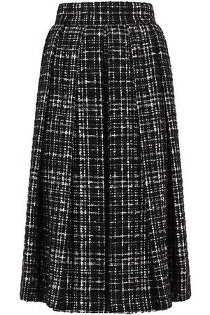 Dolce & Gabbana Mujer Faldas - Falda de tweed acampanada