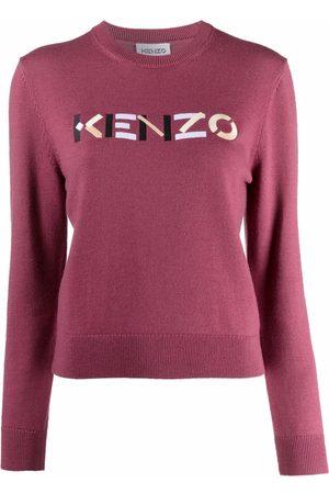 Kenzo Suéter con logo bordado