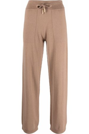 LORENA ANTONIAZZI Pantalones de cachemira rectos