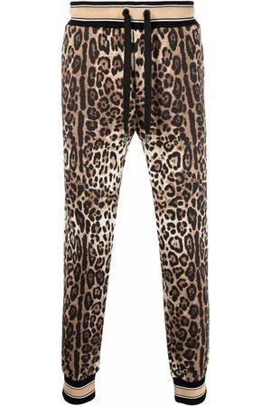 Dolce & Gabbana Pants con estampado de leopardo
