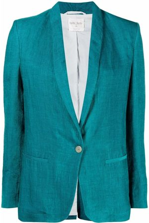 FORTE FORTE Mujer Sacos - Blazer con cuello esmoquin
