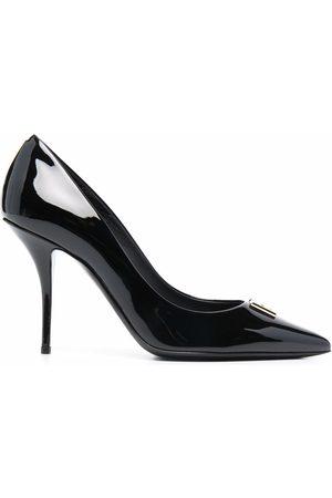 Dolce & Gabbana Mujer Tacones - Zapatillas con placa DG