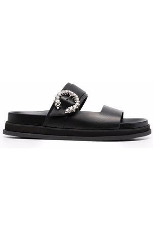 Jimmy Choo Mujer Flip flops - Sandalias con detalles de cristales