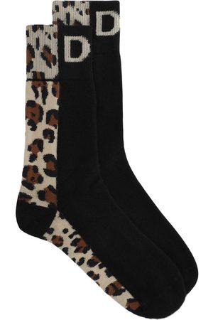 Dolce & Gabbana Calcetines con animal print