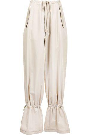 DION LEE Pantalones ajustados con ojales