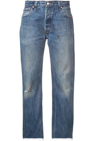RE/DONE Jeans boyfriend efecto lavado