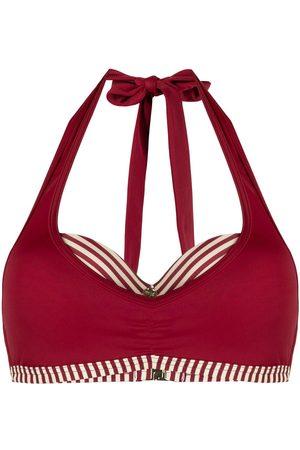 Marlies Dekkers Mujer Bikinis - Top de bikini con detalle de rayas
