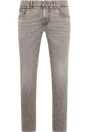 Dolce & Gabbana Jeans slim con placa del logo
