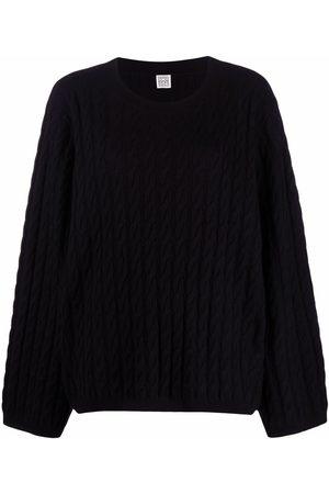 Totême Suéter de cachemira en tejido de ochos