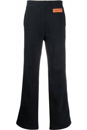 Heron Preston STRAIGHT LEG SWTPNTS LOGO BLACK BLACK
