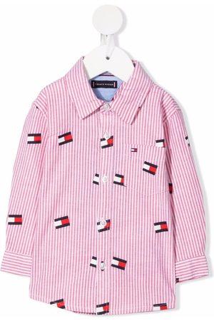 Tommy Hilfiger Junior Camisas - Camisa con logo estampado