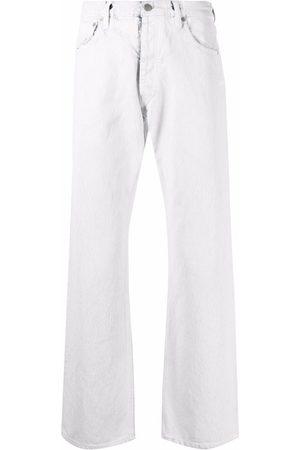 Maison Margiela Hombre Rectos - Jeans rectos con tiro medio