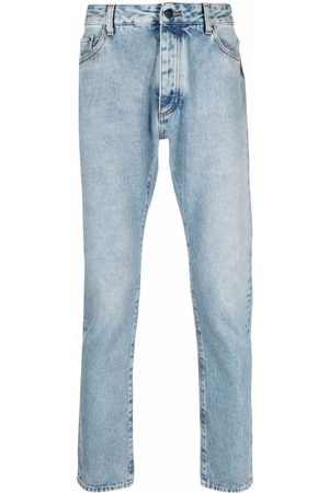 Palm Angels Jeans slim con logo