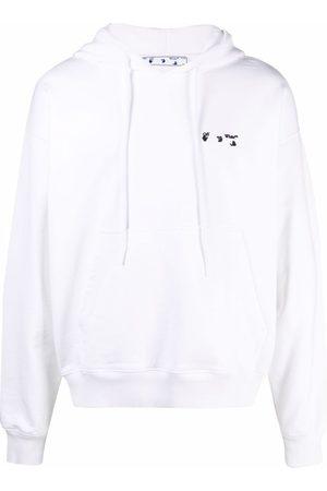 OFF-WHITE Hoodie con detalle del logo