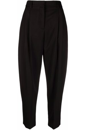 Stella McCartney Pantalones tapered con detalles fruncidos