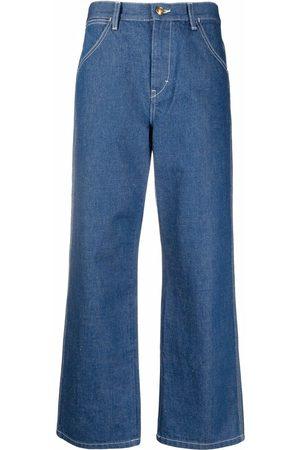 Tory Burch Jeans capri anchos