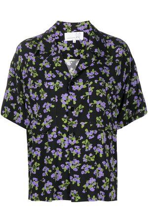Natasha Zinko Mujer Camisas - Camisa con estampado floral