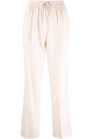 FORTE FORTE Pantalones con cordones en la pretina