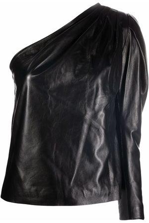 Manokhi Blusa con hombro descubierto