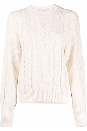 Stella McCartney Suéter corto en tejido de arán