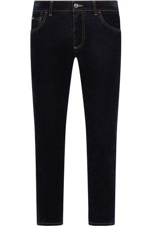 Dolce & Gabbana Jeans slim con efecto lavado oscuro