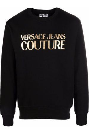 Versace Jeans Couture Hombre Sudaderas - Sudadera con logo metalizado