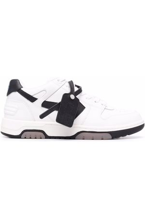 OFF-WHITE Hombre Tenis - OUT OF OFFICE CALF LEATHER WHITE BLACK