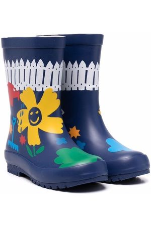Stella McCartney Niña Botas y Botines - Botas de lluvia con motivo floral