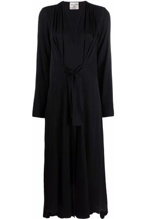 FORTE FORTE Mujer Midi - Vestido midi fruncido