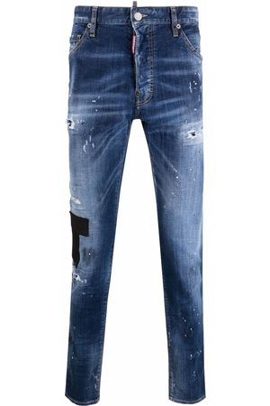 Dsquared2 Jeans slim con efecto envejecido