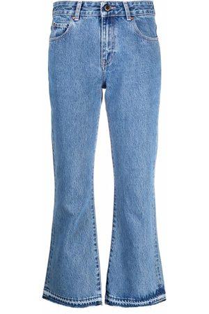 RED Valentino Jeans capri acampanados