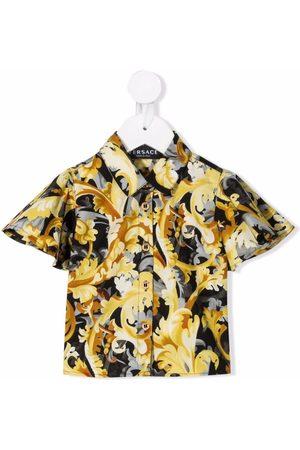 VERSACE Camisa con estampado Barocco