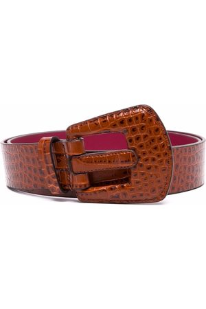 Paul Smith Cinturón con efecto de piel de cocodrilo