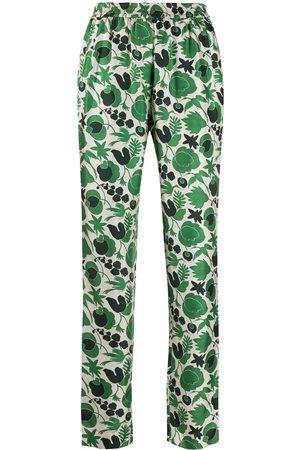 La DoubleJ Pantalones de pijama con estampado Wildbird