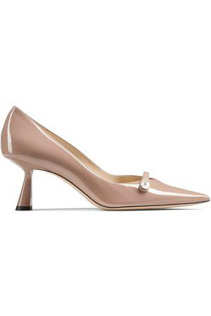 Jimmy Choo Mujer Tacones - Zapatillas Rosalia con tacón de 65mm