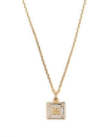 Dolce & Gabbana Hombre Collares - Collar con logo DG
