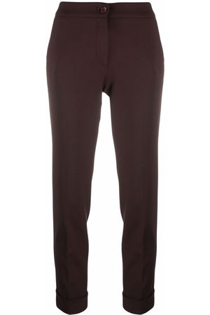 Etro Mid-rise cropped trousers