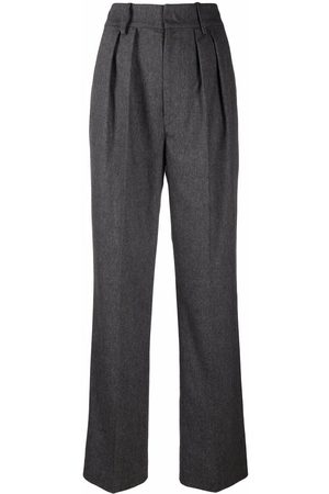 Isabel Marant Pleated high-waisted trousers