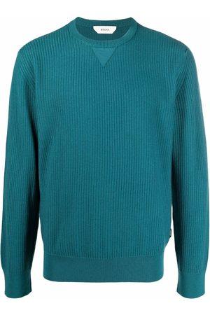 Z Zegna Hombre Suéteres cerrados - Crew-neck knit jumper