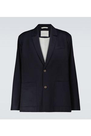 King & Tuckfield Single-breasted side vent blazer