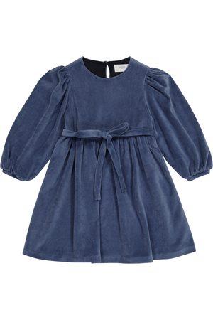 PAADE Belted velvet dress