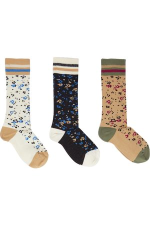 PAADE 3 pairs of stretch-cotton socks