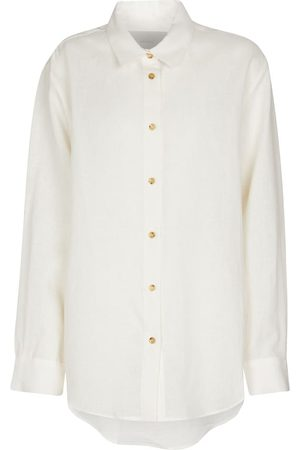 ASCENO Milan organic linen shirt