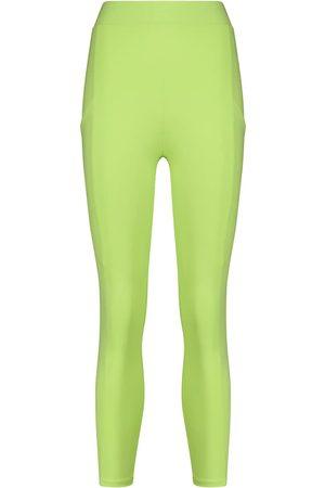 LIVE THE PROCESS Mujer Capri o pesqueros - Crystal high-rise cropped leggings