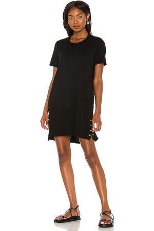 Michael Lauren Vestido gregor en color talla L en - Black. Talla L (también en XS, S, M).